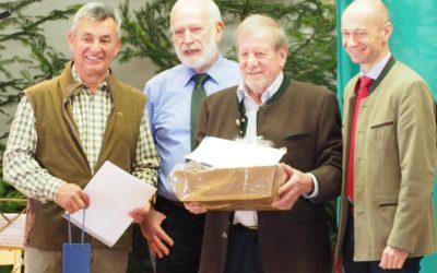 Unser jagdliches Urgestein Karl Kessler geht in den Ruhestand