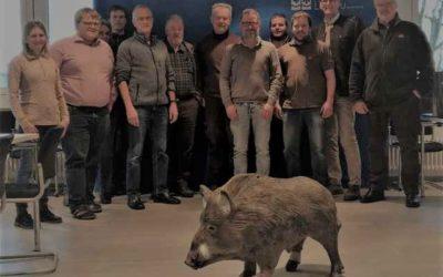 Schulung der ASP – Bergehelfer wurde im Landratsamt Lindau durchgeführt !