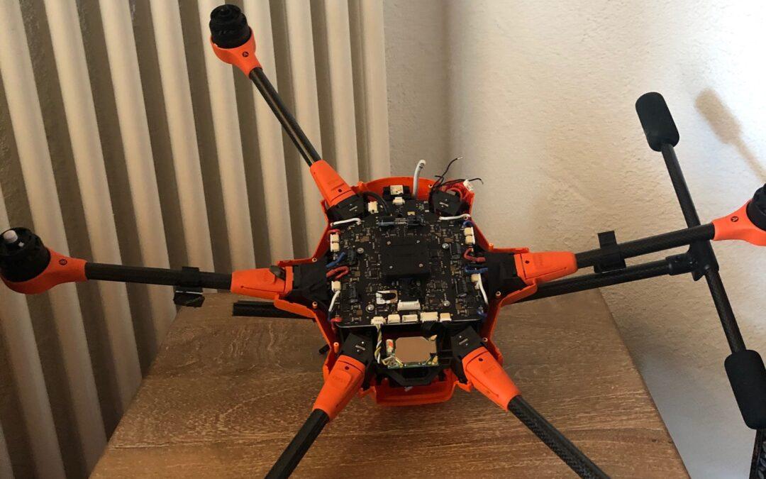 Absturz der Drohne Ende Mai 2020
