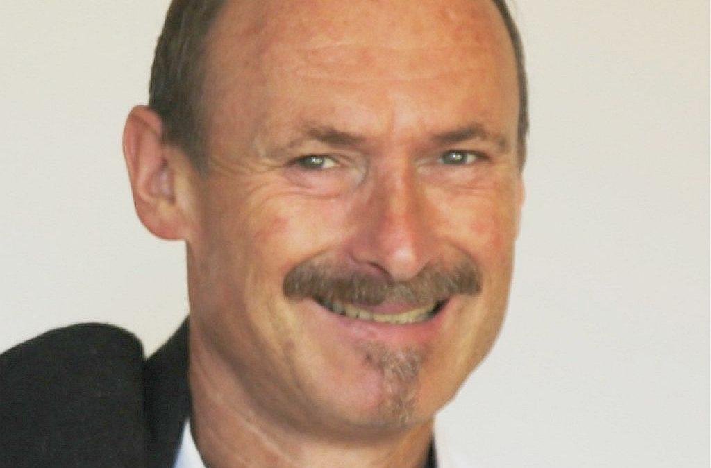 Siggi Egle übergibt die Aufgaben des Organisationsleiters Bläsercorps Lindau an Wolfgang Rehm